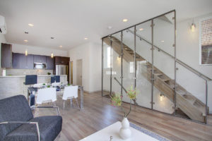 glass partition, glass wall