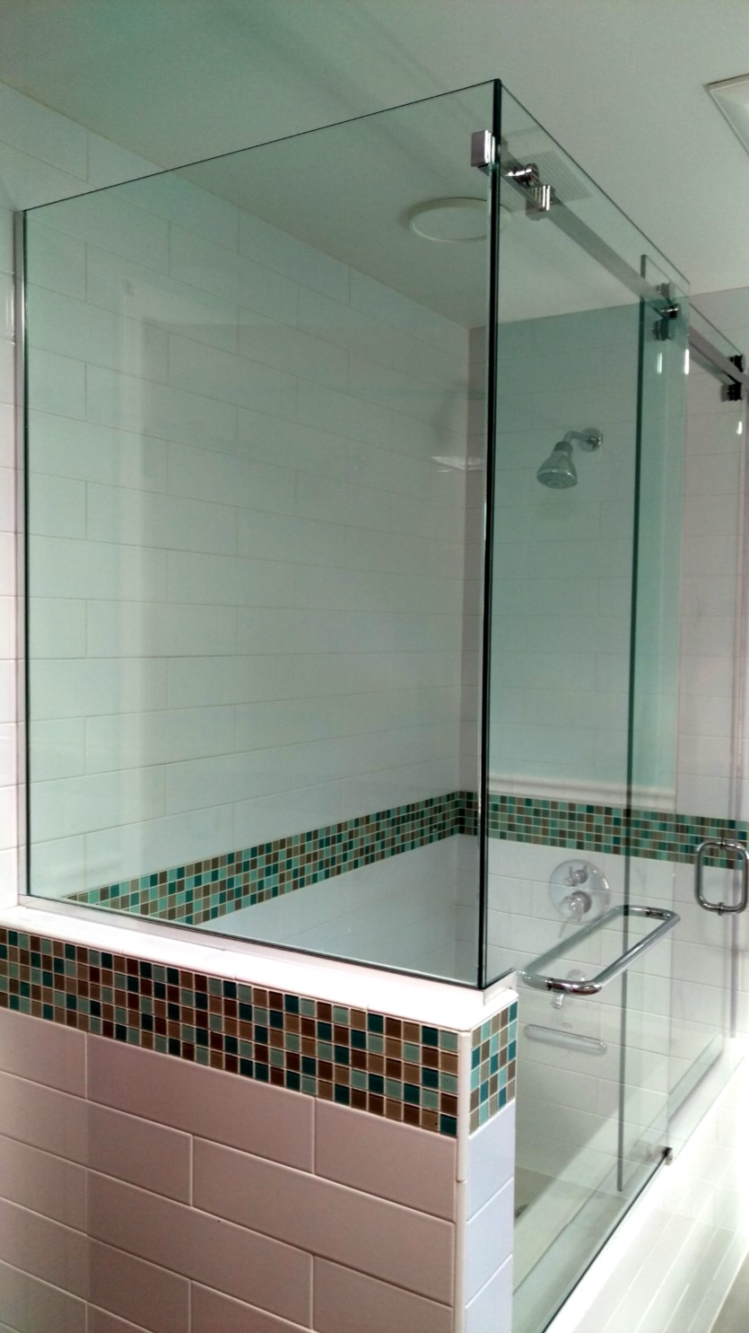 Shower Glass Kb Glass And Metal