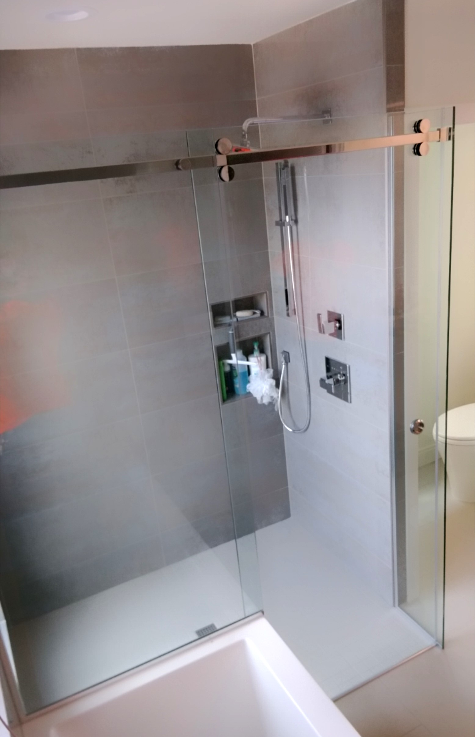 Shower Glass Kb Glass And Metal