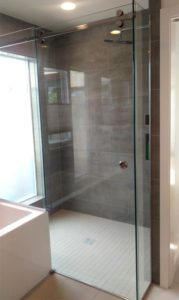 Serenity Slider Shower Glass Siystem