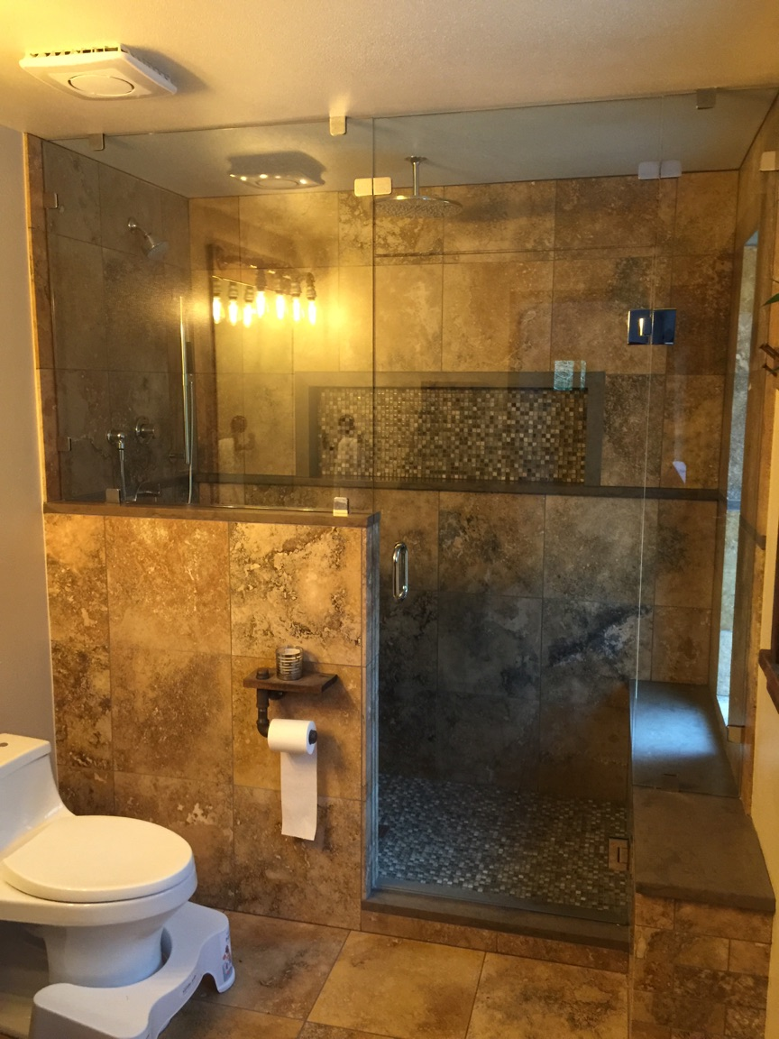 Shower Glass | KB Glass and Metal